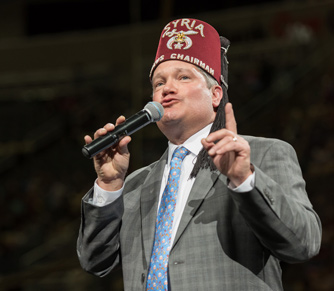 shriners circus chairman paul leavy