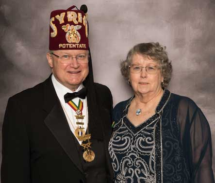 potentate bill weiss and first lady phyllis
