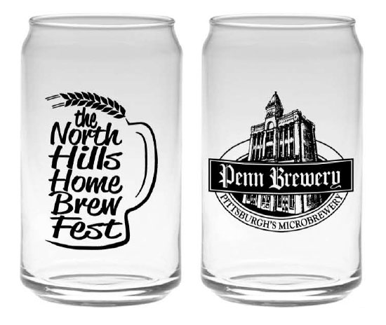 syria shriners north hills home brew fest glasses