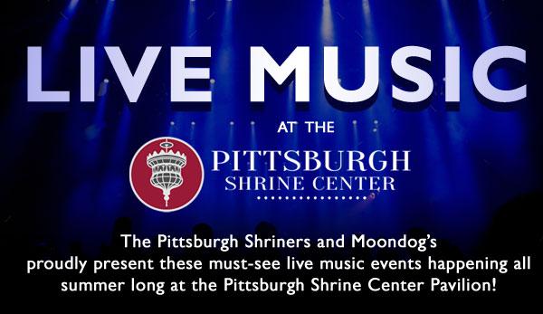 Summer Music at teh Pittsburgh Shrine Center Banner
