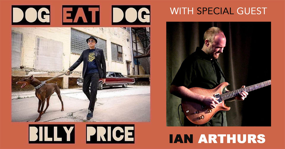 Pgh Shriners & Moondog's present Billy Price wsg Ian Arthurs